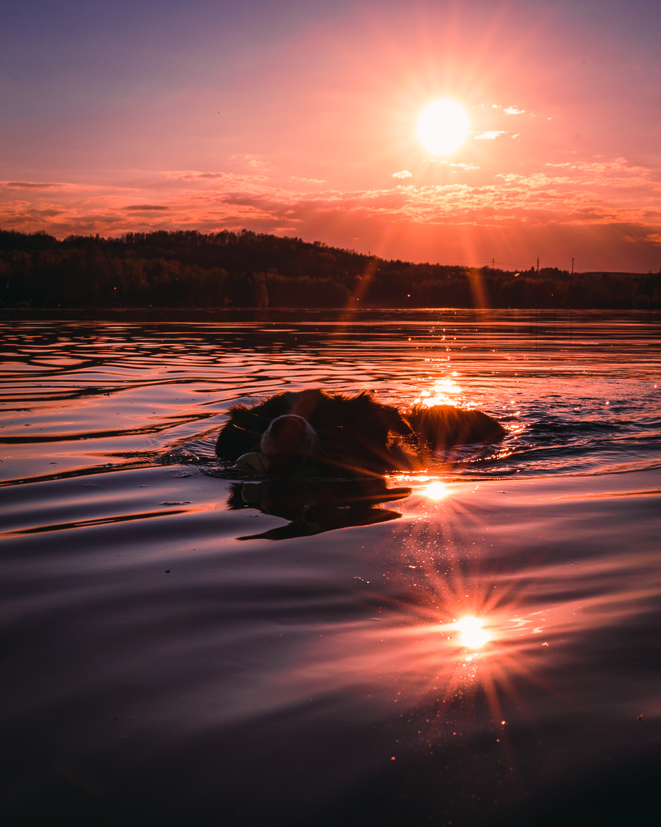 Lightroom preset - Sunset lake
