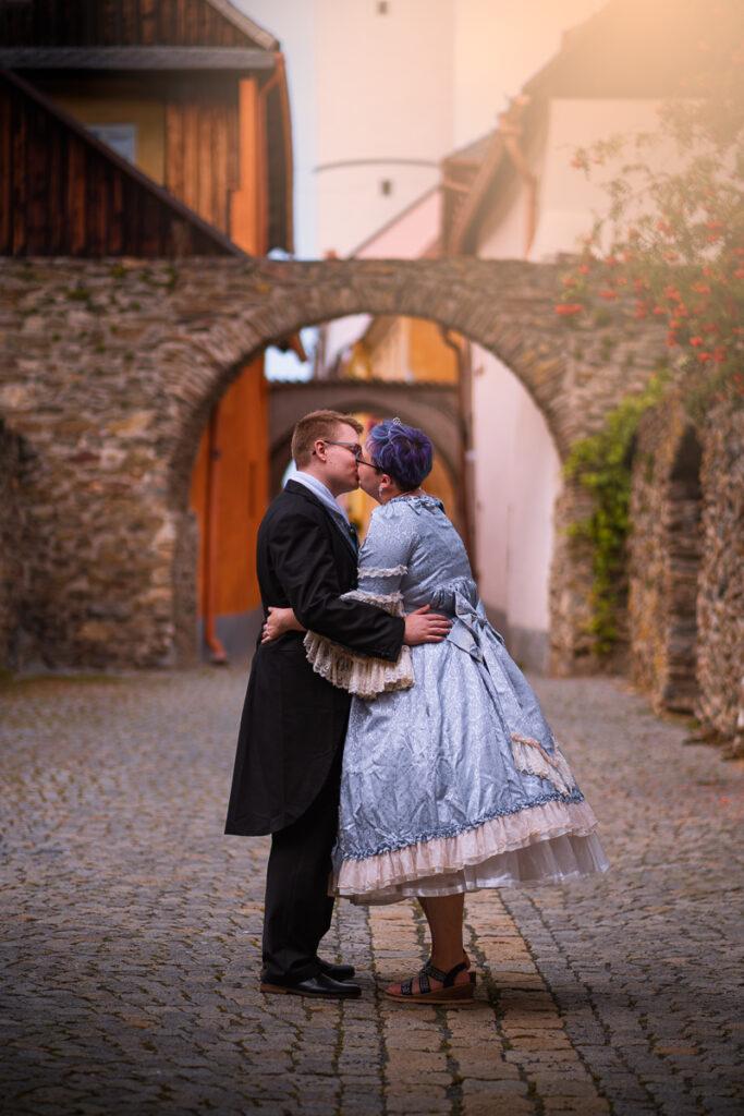 Svatební příběh Jem a Tobi v Domažlicích - Svatební fotograf Radek Vandra