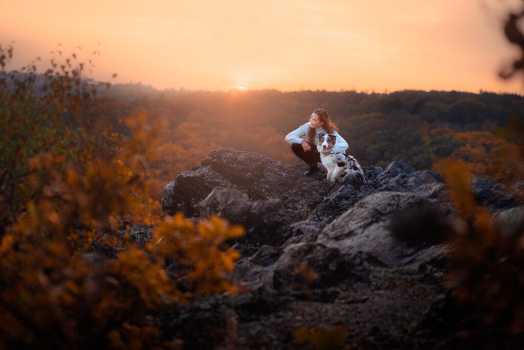 Portrétní fotografování se psem - Fotograf Radek Vandra