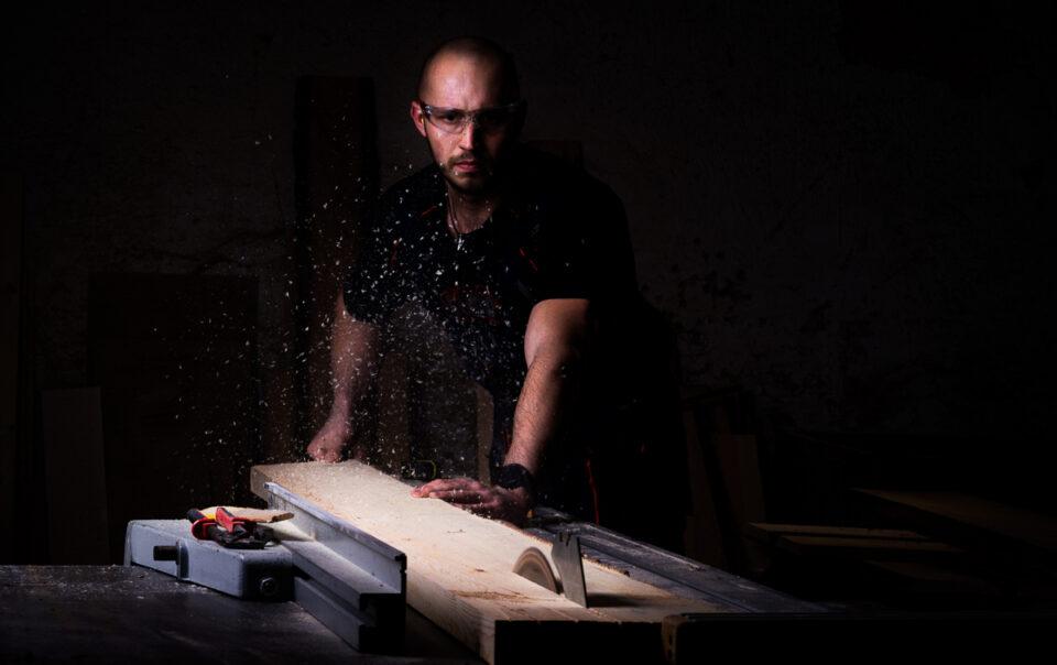 Řemeslný projekt - Truhlář Pepa - Profesní portrét - Fotograf Radek Vandra