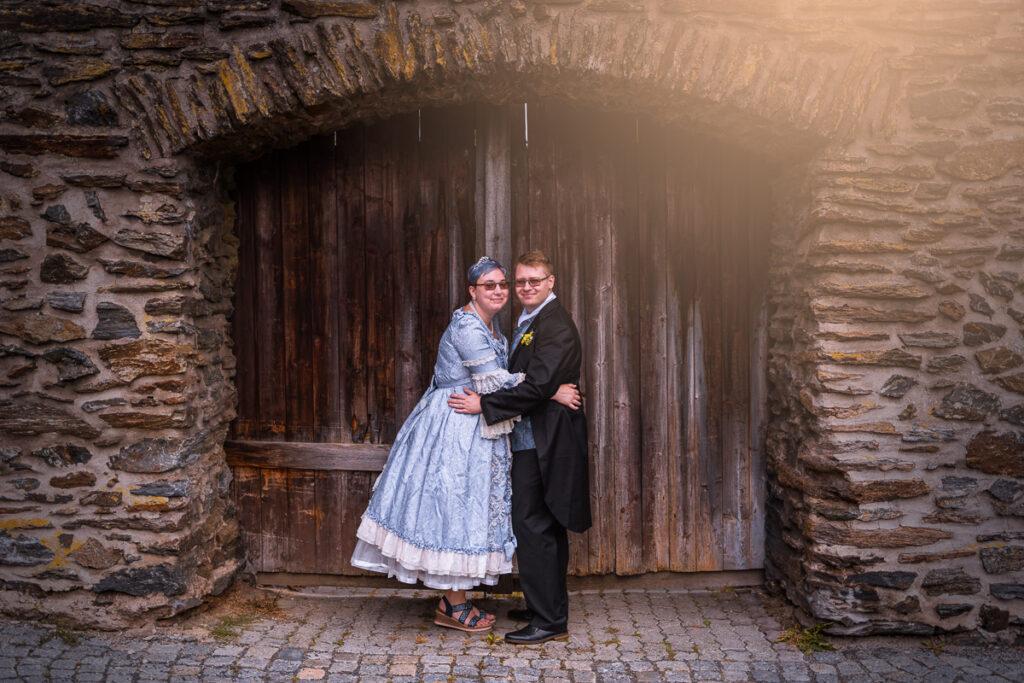 Svatební párové focení - Jem a Tobi - Domažlice - Svatební fotograf Radek Vandra