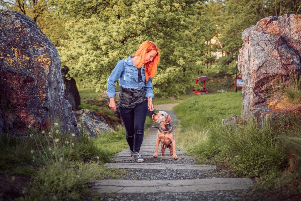 Rodinné focení se psy na Kamýku u Rokycan - Fotograf Radek Vandra